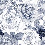 手绘花卉无缝背景