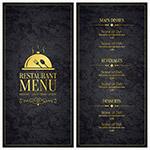 餐厅菜单模板
