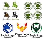 老鹰与橄榄标志