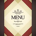 国外餐厅菜单封面