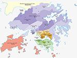 香港特别行政区地图