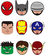 超级英雄人物头像