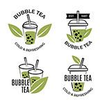 泡泡茶标志LOGO