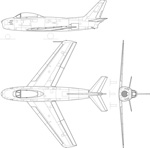 F-86A战斗机矢量