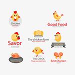 卡通小雏鸡标识