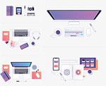 设计师工作区插图