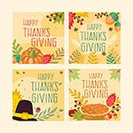 感恩节手绘卡片