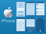 iPhone线框图