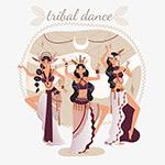 少数民族舞蹈女性