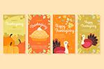 手绘感恩节卡片