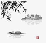 中国风水墨风景