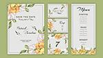 婚�Y花卉�b�卡片