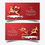 圣诞节矢量麋鹿