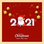 2021圣诞节快乐海报