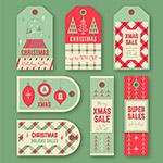 圣诞销售标签