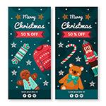 圣诞节促销展架