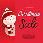 圣诞节促销海报