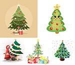礼物盒与圣诞树