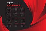 2021日历模板