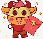 红包牛牛年形象