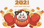 2021牛年可爱形象