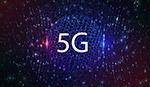 5g互联网连接概念背景