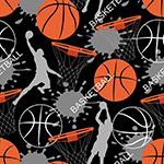 篮球运动矢量背景图