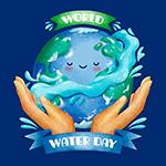世界水日插画