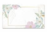 抽象热带花卉背景