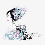 传统中国美女