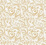 金色花边底纹