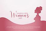 38妇女节矢量海报