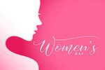 妇女节矢量插图