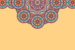 几何元素装饰花纹背景