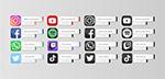 手机APP媒体图标