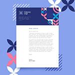企业信纸模板