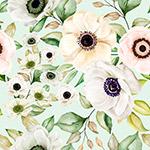 花朵矢量图案背景