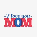 我爱你妈妈英文字母