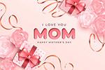 我爱妈妈矢量