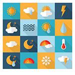 矢量天气图标