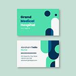 绿色护理医疗名片
