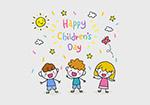 儿童节可爱手绘儿童