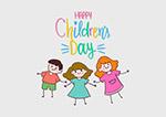 儿童节快乐手绘儿童