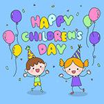 儿童节卡通插画