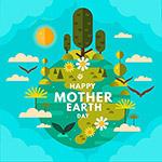 地球母亲日快乐海报