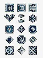 传统中国风中式花纹
