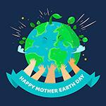 地球母亲日绿色环保梦