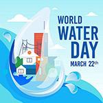 世界水资源日矢量
