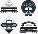 黑色火车标志