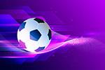 抽象足球背景